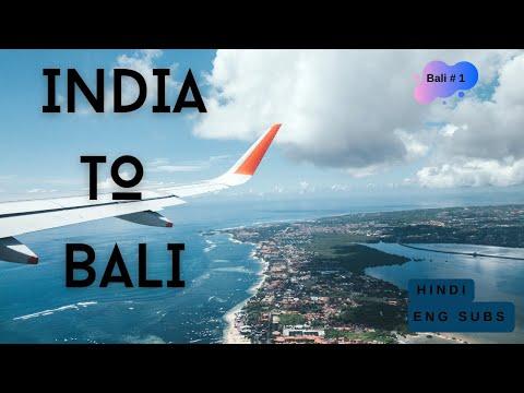 Mumbai to Bali Flight (Go Air +Air Asia) l Visa Info l KLIA2 Guide l Bali Tour Guide (in Hindi)