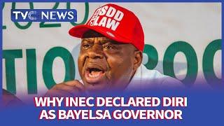 INEC obeys court order, declares Douye Diri winner of Bayelsa governorship election