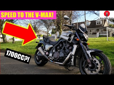 FASTEST BIKE IVE RIDDEN! - Yamaha Vmax 1700 (Review)