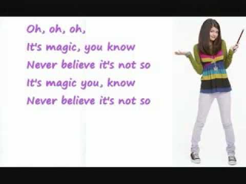 selena gomez magic karaoke free