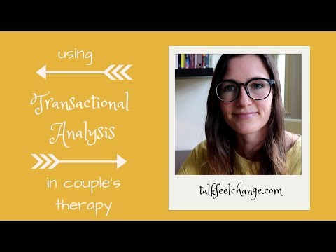 Using transactional analysis in couple's therapy