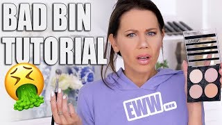 FULL FACE BAD BIN MAKEUP TUTORIAL