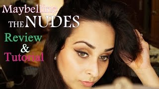 Image for video on Maybelline (India) The Nudes Palette - Review + Gold & Bronze Makeup Tutorial by Deeptima Singh