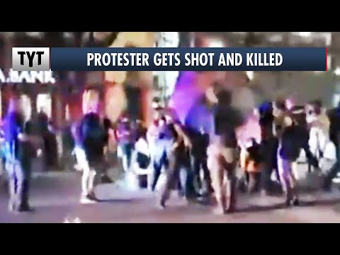 Protester Shot And Killed By Driver