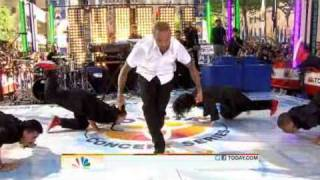 Chris Brown performs I Can Transform Ya (Dance Medley) on The Today Show's Concert Series 2011