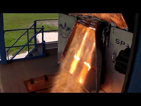 SuperDraco test fire