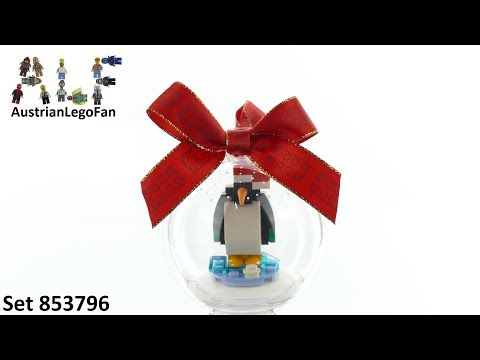 Vidéo LEGO Saisonnier 853796 : Pingouin décoratif pour Noël