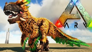 100% REALISTIC FEATHERED TREX? WE FINALLY HAVE IT! - Ark Survival Evolved