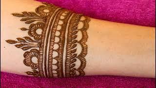Bridal Style Mehndi Design | Henna Design | 2018 |