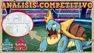 Drednaw  - (Pokémon) - 🌟[Estrategía] DREDNAW Competitivo - Guía para uso en Pokémon Espada y Escudo!
