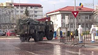 Acțiuni de dezinfectare ale Spitalului Județean Suceava