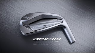 Mizuno JPX919 Forged irons / Boron infused steel