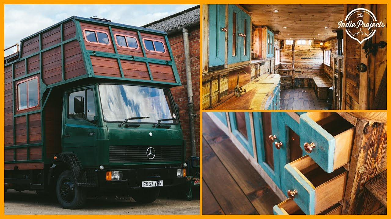 Off-Grid Horsebox Tiny House Tour!