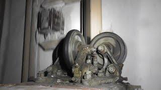 Ремонт древнего быстроходного лифта тонника-залипайки