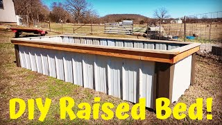 STOP Building Wooden Raised Beds!! | How To Build The BEST Raised Bed For The Money!
