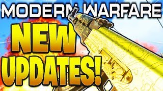 NEW MODERN WARFARE UPDATES! TANK NERFS, KILLFEED, GUNFIGHT RANKS + MORE COD Modern Warfare Updates!
