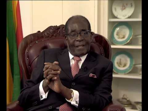 Full set of 5 YouTube videos: #mugabe interview on eve of 90th birthday