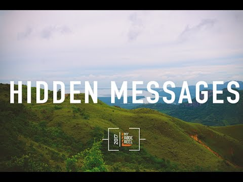 HIDDEN MESSAGES - My Rode Reel 2017 BTS