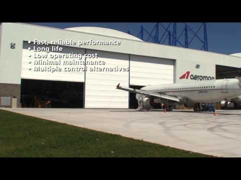 Mega Hangar Door