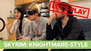 Let's Play Skyrim vs. Knightmare: Skyrim Knightmare Gameplay Challenge