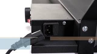 Керамический Инфракрасный Обогреватель с терморегулятором, ножками и сушилкой ENSA CR500TW белый ХИТ ПРОДАЖ! от компании Магазин Смарт-Тайм - видео