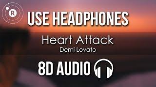 Demi Lovato - Heart Attack (8D AUDIO)