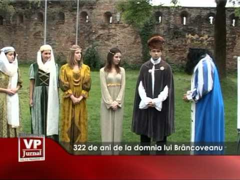 322 de ani de la domnia lui Brâncoveanu