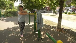 В центре Черкесска открыта новая детская игровая площадка