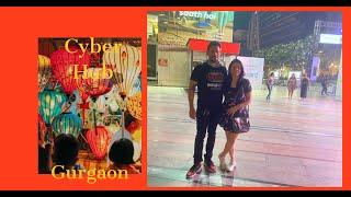 A walk in Ambience mall and CyberHub gurugram/Gurgaon