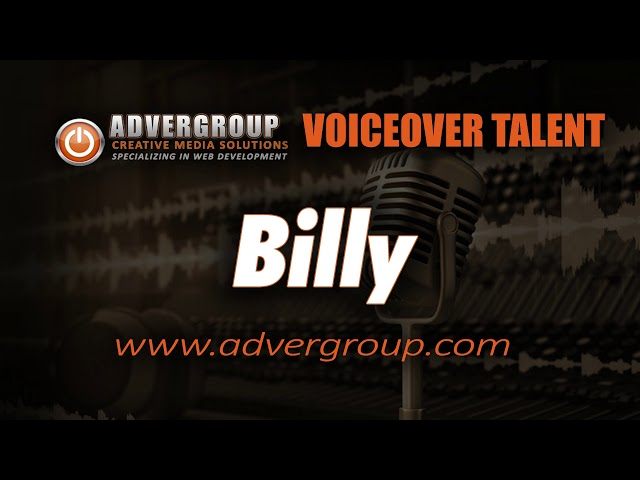 Billy Male VOICEOVER ..