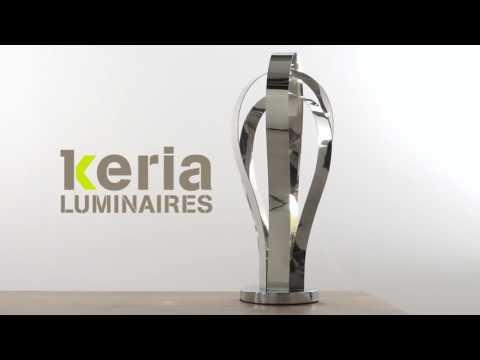 KERIA Luminaires - Vidéo lampe à poser touch CACTUS