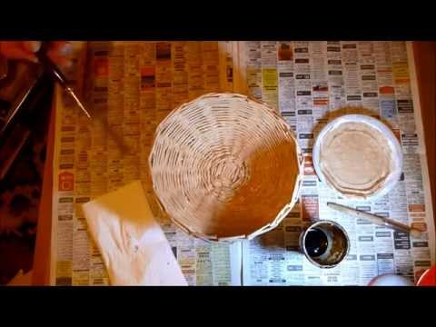 Tutorial Come fare un cestino con le cannucce di carta