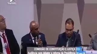 GCM OSÉIAS NA CCJ DO SENADO