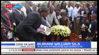 Mtangazaji wa ishara William Sila azikwa Langata,Nairobi