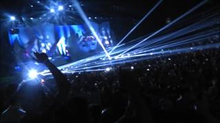 Avicii - Levels (LIVE @ CENTRE BELL MONTREAL JUNE 22TH) (HD 1080P)