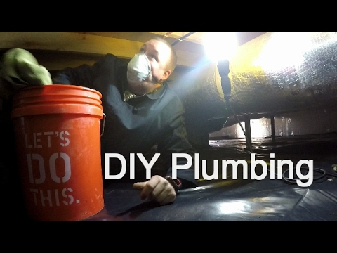 DIY Plumbing on the Homestead