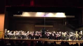 2012 Prologue & Dark AdventureHonor Band concert  OBDA @ McKinley High School