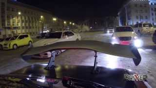 Боком в 2014-й! STREET DRIFT Epidemic in Irkutsk! The BEST moments of Winter!