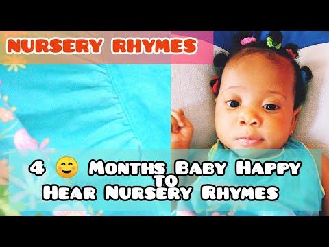 4 MONTHS BABY SINGS  NURSERY RHYMES WITH KID BROTHERS
