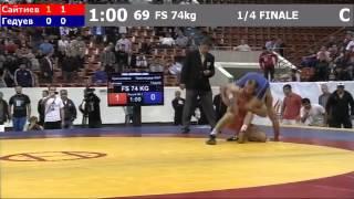 Драка Чемпионат России -2012  Сайтиев -Гедуев