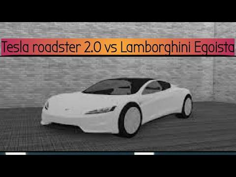 Final Test In Vehicle Simulator Tesla Roadster 2 0 Vs Lamborghini