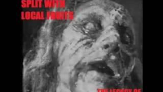 Tersanjung 13/ Local Fruits -  The Legacy Of Notorious Grinding Evil   (Full Split Album)
