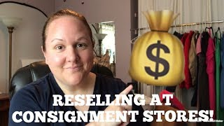 How To Make Money At Consignment Stores! Easier Than Reselling Items Online!