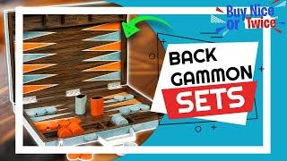 ✅ Top 5 Best Backgammon Sets [ 2021 Buyer's Guide ]