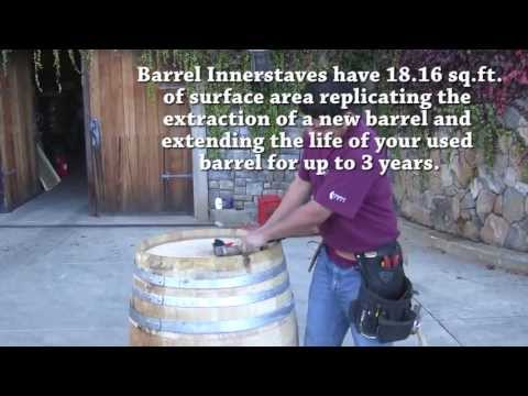 Barrel Innerstave Installation