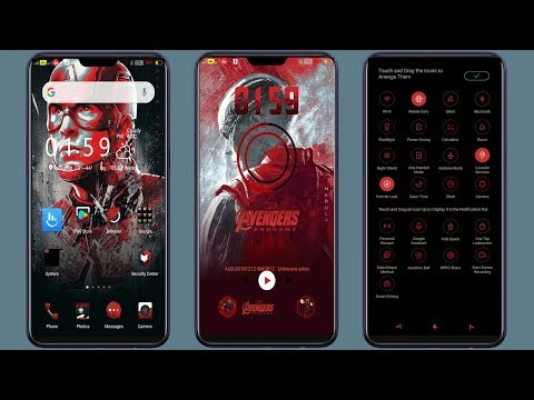 new oppo theme Pixel 3 XL for oppo f5 f7 f9 a3s realme a37