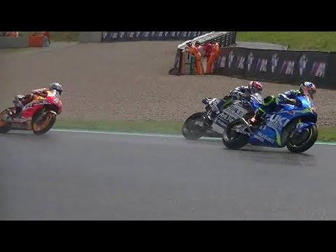Best of German GP 2017-MotoGP,Moto2 & Moto3 action and sound