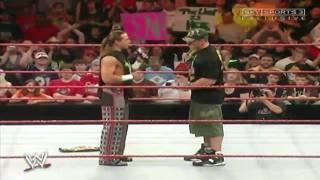 HBK & Cena The Night After WrestleMania 23