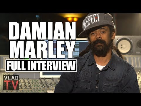 Damian Marley on 2Pac & Bob Marley Comparisons, Album with Nas, New Project (Full Interview)