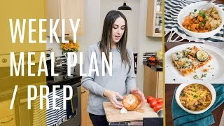 Family Of 6 Weekly Meal Plan + Easy Weeknight Dinner Ideas | Meal Prep